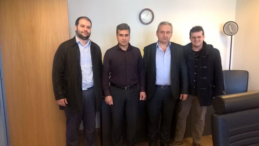 Συνάντηση Δημάρχου Νάουσας με Πρόεδρο Ρυθμικής Αρχής Ενέργειας